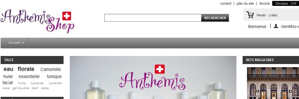 Anthemis-shop – acheter en ligne