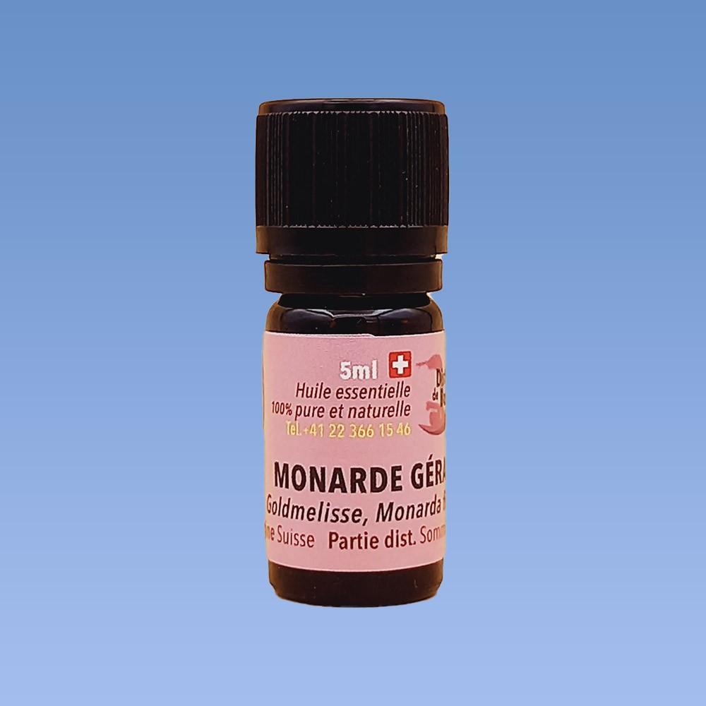 Monarde géraniol